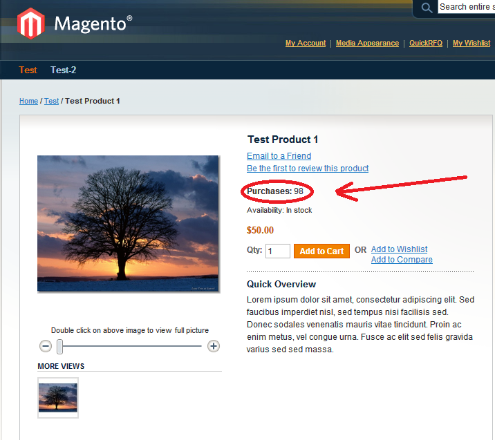 Free Magento Products Extension
