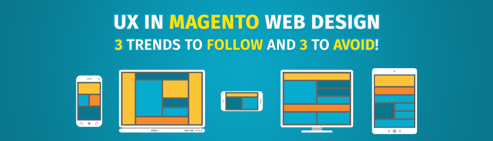 UX design in Magento