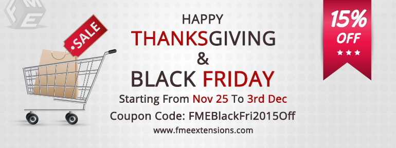 Magento black friday & thanks giving sale