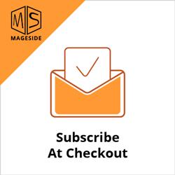 21 Subscribe at Checkout