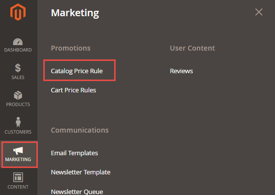 Catalog Price Rule