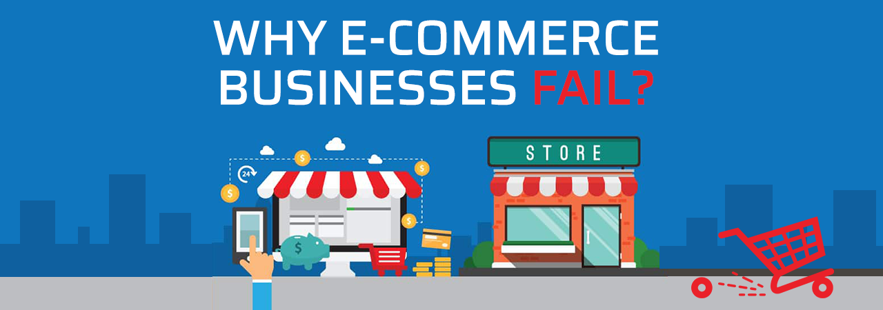 Why Ecommerce Businesses Fail - Infographic
