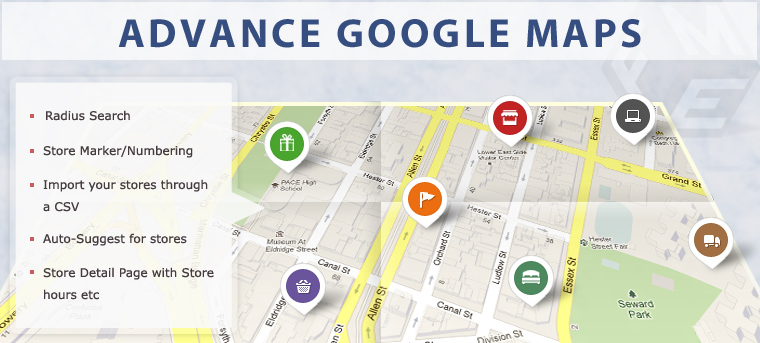 Advance Google Maps-Store Locator