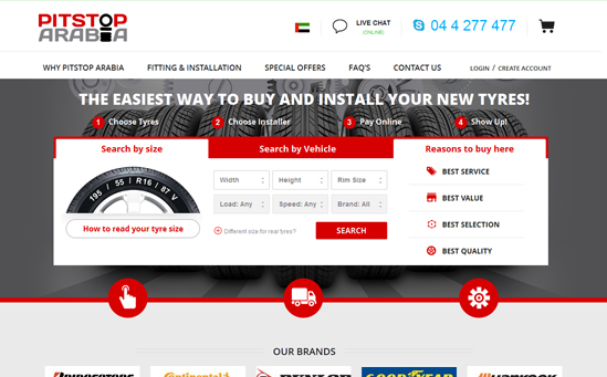 Online Tyres  Store