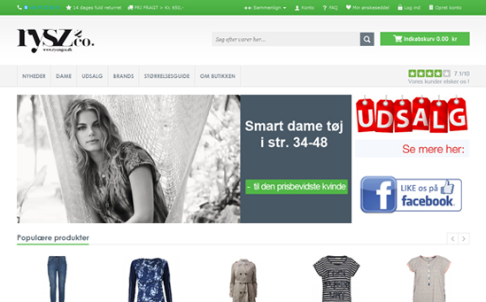 Clothing Magento Store