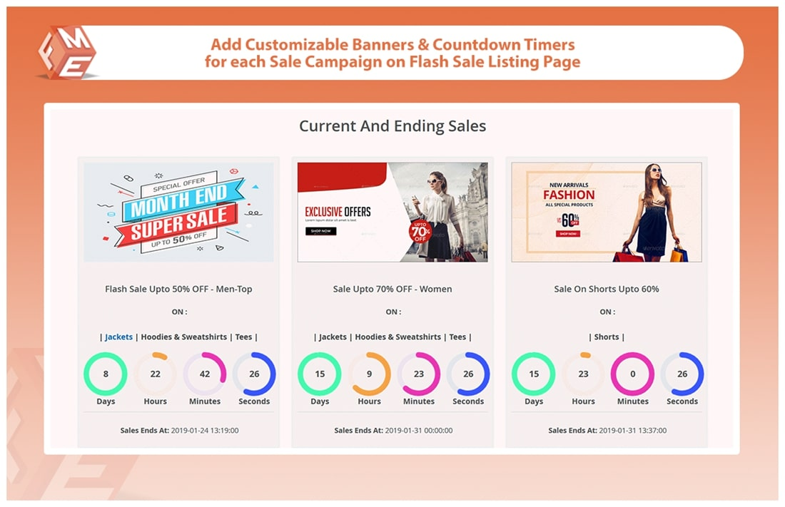 Flash Sales with Countdown Timer