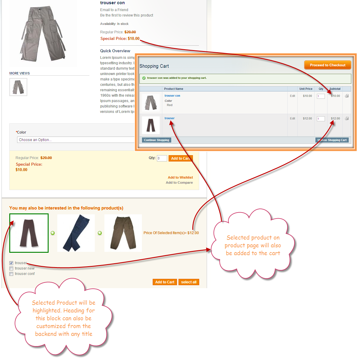 b37a2673ca Frequently Bought Together Magento Extension