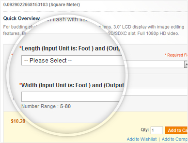 How to show price calculator on product pages in woocommerce.